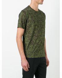 Bally - Green Printed T-shirt for Men - Lyst