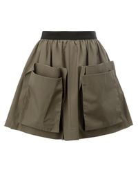 Maison Rabih Kayrouz | Green Patch Pocket Skirt | Lyst