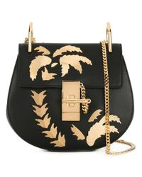 Chloé | Black Mini Drew Shoulder Bag | Lyst