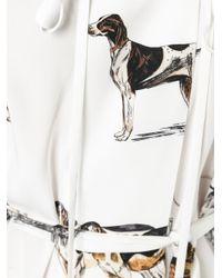 Stella McCartney - White Sailor Collar Dog Dress - Lyst