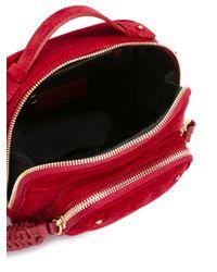 See By Chloé - Red See By Chloé Tassel Detail Crossbody Bag - Lyst