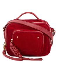 See By Chloé - Red See By Chloé Tassel Detail Crossbody Bag - Lyst