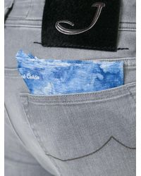Jacob Cohen - Gray Slim-fit Jeans for Men - Lyst