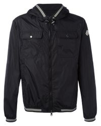 Moncler | Black Jeanclaude Lightweight Jacket for Men | Lyst
