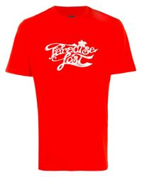 OAMC | Red Lost Paradise T-shirt for Men | Lyst