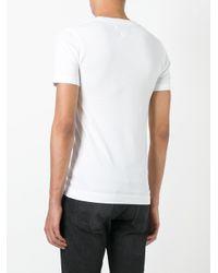 Facetasm | White Logo Print T-shirt for Men | Lyst