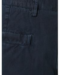 Stone Island - Blue Cargo Shorts for Men - Lyst