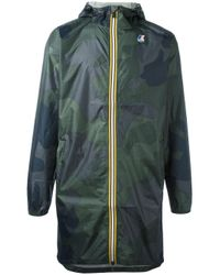 LES (ART)ISTS | Green K-way X Les (art)ists Zip Up Jacket | Lyst