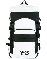 Y-3 | White Ultratech Backpack for Men | Lyst