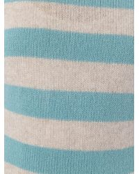 Etro - Blue Striped Jumper - Lyst