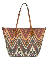 Etro | Brown Embroidered Detail Shoulder Bag | Lyst