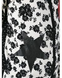 Twin Set   Black Lace Detail Cardigan   Lyst