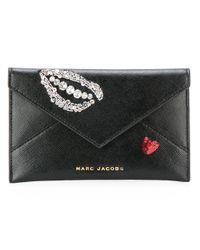 Marc Jacobs   Black Vintage Collage Clutch Bag   Lyst