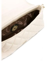 Love Moschino - Natural Quilted Clutch - Lyst