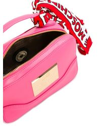 Love Moschino - Pink Scarf Detail Tote - Lyst