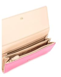 Love Moschino | Pink - Logo Plaque Clutch - Women - Polyurethane/metal - One Size | Lyst