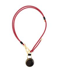 Marni | Red Cord Necklace | Lyst