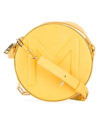 Mugler   Yellow Round Cross-body Bag   Lyst