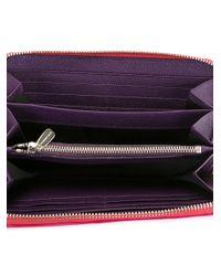Dolce & Gabbana - Pink Zip Around Wallet - Lyst