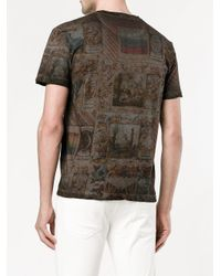 Valentino - Multicolor Printed T-shirt for Men - Lyst