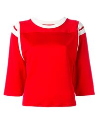 MM6 by Maison Martin Margiela | Red Anniv 20 T-shirt | Lyst