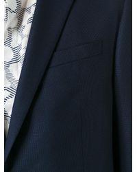 Z Zegna   Blue Single Breasted Blazer for Men   Lyst
