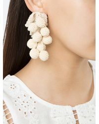 Rosie Assoulin - Natural Grape Clip On Earring - Lyst