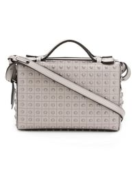 Tod's | Gray Studded Cube Cross-body Bag | Lyst