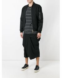 Moohong | Black Skort Trousers for Men | Lyst