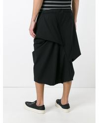 Moohong - Black Skort Trousers for Men - Lyst
