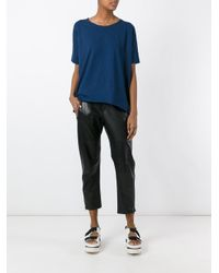 Roberto Collina | Blue Loose-fit T-shirt | Lyst