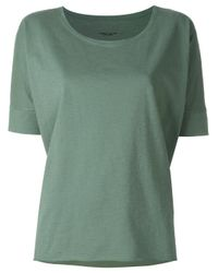 Roberto Collina | Green Loose-fit T-shirt | Lyst