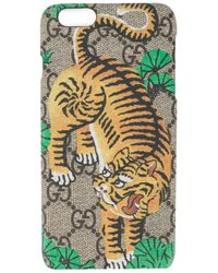 Gucci | Multicolor Bengal Tiger Iphone 6+ Case for Men | Lyst