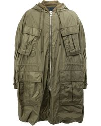 Juun.J | Green Multiple Pockets Hooded Coat for Men | Lyst