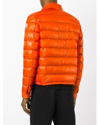 Moncler - Orange Acorus Padded Jacket for Men - Lyst