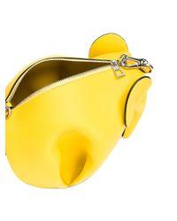 Loewe | Yellow Elephant Crossbody Bag | Lyst