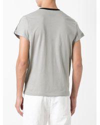Ann Demeulemeester - Gray Cobweb Print T-shirt for Men - Lyst
