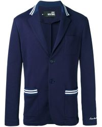 Love Moschino | Blue Two Button Blazer for Men | Lyst