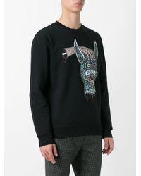 McQ Alexander McQueen - Black Decapitated Bunny Print Sweatshirt for Men - Lyst