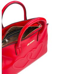 Love Moschino - Red Heart Tote - Lyst