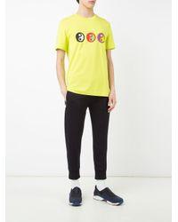 Gosha Rubchinskiy - White Yin Yang Print T-shirt for Men - Lyst