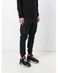 Nike - Black Tech Bonded Track Pants for Men - Lyst