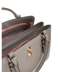 Bally - Brown - Double Handles Tote - Women - Leather - One Size - Lyst