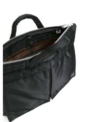 Porter - Black - Tanker Briefcase - Men - Nylon - One Size for Men - Lyst