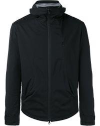 Y-3   Black Hooded Jacket for Men   Lyst