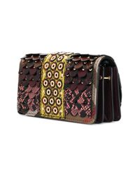 Burberry - Multicolor Scale Thick Chain Shoulder Bag - Lyst