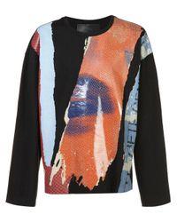 Juun.J   Black Long Sleeve T-shirt for Men   Lyst