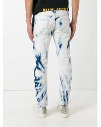 Palm Angels   Blue Tie Dye Skinny Jeans for Men   Lyst