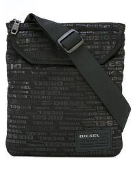 DIESEL | Black Messenger Bag for Men | Lyst