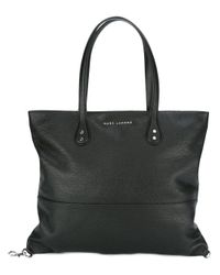 Marc Jacobs | Black - Logo Clasp Tote Bag - Women - Leather - One Size | Lyst